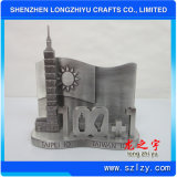 Firmenzeichen-Zoll-Form Caffoffice Metal Business Card Holder Company