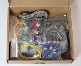 Seis máquina das canaletas ECG com tela de toque