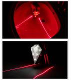 방수 자전거 레이저 광선 후방 자전거 테일 빛