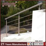 Pasamano al aire libre de la escalera del metal de la barandilla de la escalera del tubo de acero (DMS-B2231)