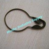 Grands 5 supplémentaires '' Pin de crochet en acier plaqué de rideau en sécurité de forme de la poire (P160726B)