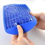 La catégorie comestible de qualité refroidissent le plateau de glace de silicones de 160 cubes