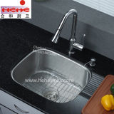 Cupc reconheceu o dissipador da lavagem do aço inoxidável (3328A)