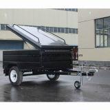 Black Powder Coated Canopy Trailer / Alimentation Trailer / Box Utility Trailer