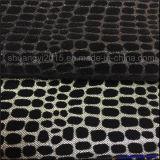 Unità di elaborazione Glitterlace di cuoio con l'affollamento, affollandosi tessuto per i pattini & la tappezzeria