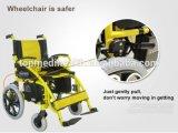 2016 무능한과 연장자를 위한 전자 휠체어를 접히는 새로운 디자인 경제력 휠체어