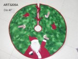Falda del árbol de Santa de la decoración de la Navidad