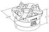 Mandrin automatique de tour du maxillaire EDM d'action rapide 4
