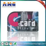 Smart card 13.56MHz plástico do canto redondo