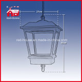 Plastica e Metal Hanging Lamp il Babbo Natale Decoration
