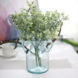 Пластмасса выходит цветок Aritificial для венчания/украшения домашних/сада (SF16294A)
