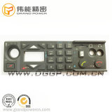 AudioEuipment Laser-Radierung PU-Beschichtung-Kontrollsystem-Silikon-Gummi-Tastaturblock
