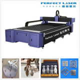 Machine de découpage parfaite de laser en métal de fer d'acier inoxydable de laser