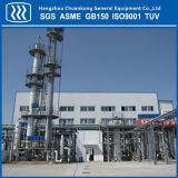 Pianta liquida industriale del gas naturale