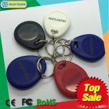 étiquette de trousseau de clés de proximité d'IDENTIFICATION RF de contrôle d'accès de 125kHz TK4100