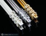 Profil d'aluminium de voie de rideau en couleur d'or de Rose