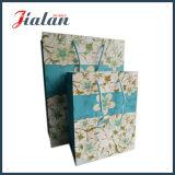 Le papier 210 en ivoire conçoivent le sac mat de cadeau de papier de laminage