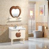 方法新しいデザイン壁に取り付けられた現代PVC浴室用キャビネット