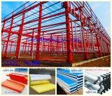 Taller de acero en la construcción de la granja de Qingdao Hapy