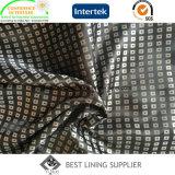 Garniture de polyester de garniture de jacquard de ratière de satin de couche de l'hiver des hommes