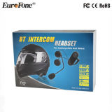 Écouteur de Bluetooth de casque d'intercom de moto, radio de casque d'intercom de Bluetooth