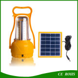 LED Camping Solar Lantern Randonnée LED Emergency Solar Lamp Portable Rechargeable Solar Camping Light