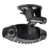 HD pieno Car DVR Recorder R310 con il GPS Dual Car Cam+Dash Board Camera GPS