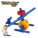 Thinkertoy الطائرات لاند العلمي البناء كتل لعبة تربية سلسلة الذكية يطير
