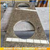 Base d'appoggio ornamentale all'ingrosso della cucina del granito di Giallo