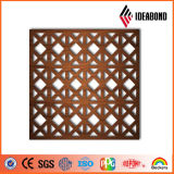Qualidade excelente! Ideabond Fireproof CNC Grille Aluminum Composite Material