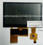 """4.3 """" TFT 480xrgbx272, met Capacitive Touch Panel: ATM0430d12-CT"""