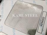 Roestvrij staal In reliëf gemaakt Blad 410 van uitstekende kwaliteit