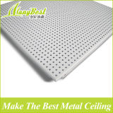 Clip di alluminio decorativa a prova di fuoco ed insonorizzata di vendita calda di 600*600 millimetro nel soffitto