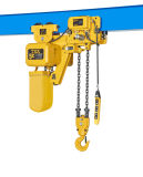 Headroom faible Electric Chain Hoist avec Electric Trolley