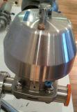 Valvola a diaframma pneumatica sanitaria del morsetto