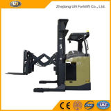 1.5ton Ladegerät-Gabelstapler-Doppelt-Schere-Reichweite-LKW