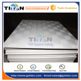 Preço de teto falso da placa de gipsita do PVC
