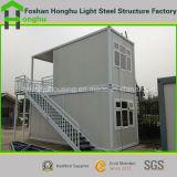 Zwei Fußboden-vorfabriziertes Hauptbehälter-Haus für Büro