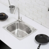 Cucina Stainless One Piece Forming Sink (4942L)