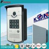 通話装置のビデオドアの電話システムKnzd-42vr IPのビデオドアの電話、緊急制御