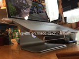 Le meilleur stand de vente d'ordinateur portatif en métal, stand de cahier