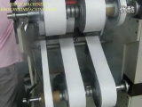 Círculo Knife Slitting Machine para Conductive Fabric