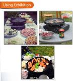 Plaque saine de BBQ de poêle de cuisson de bâton Non- première