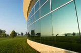 Vidro reflexivo do calor verde (vidro reflexivo solar)