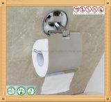 Suporte do rolo de toalete do tecido do suporte do papel da prateleira do aço inoxidável do cromo