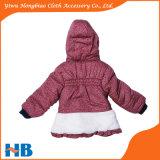 소녀를 위한 외투가 도매 겨울 형식을 입어 아이들에 의하여 농담을 한다