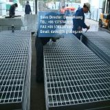 Barra galvanizada de la INMERSIÓN caliente que ralla para la plataforma de la industria y la cubierta del foso