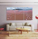 Europa-Art-Farbanstrich-Kunst auf Segeltuch