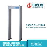 4 zone raddoppiano il metal detector chiaro sano infrarosso del blocco per grafici di portello di obbligazione del sottopassaggio dell'allarme