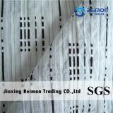 tela bonita da listra de 10%Silk 90%Cotton 23mm para a camisa